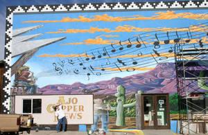 Cunews mural WIP by Hop41