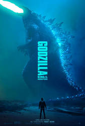 Godzilla: King of the Monsters (Fanmade) Poster by NERDGUY2000