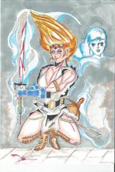 Sword Witch Blood Casting by Goshogun-Z