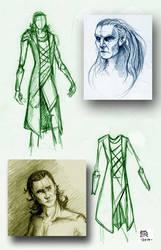 Dark World Sketches by easytheregenius