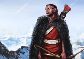 Dokkalfar - Dark Elf by RedGeOrb