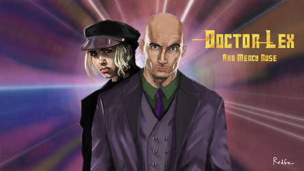 Doctor Lex - Fan Art Doctor Who/Superman by RedGeOrb