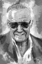 Homage to Stan Lee by RedGeOrb