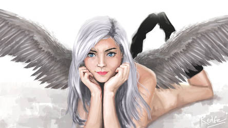 Angel Gray by RedGeOrb