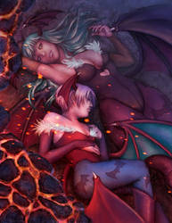 Darkstalkers Tribute Entry by AliceMeichi