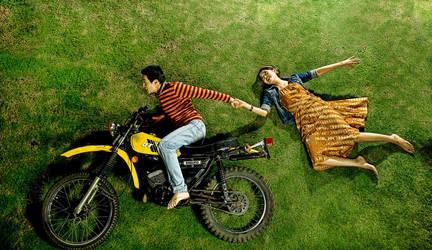 runaway 'rider' bride by ang7m