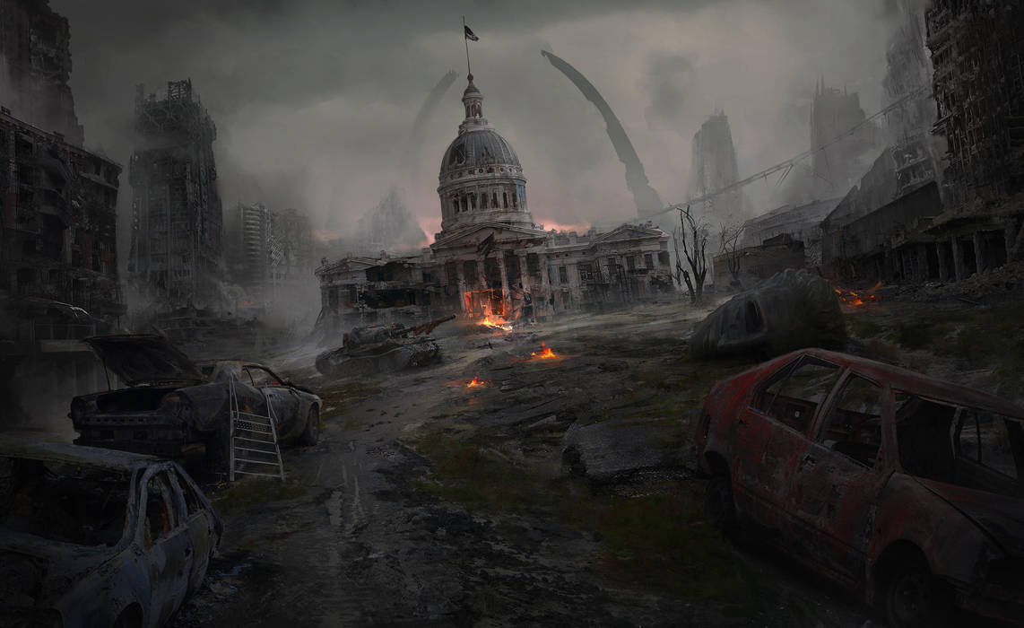 Postapocalyptic St. Louis by Thuberchs