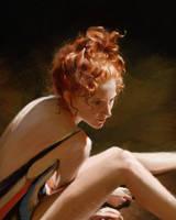 Portrait study 4 by Thuberchs