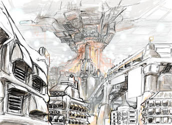 Dream Sequence Concept Art by zorgitron