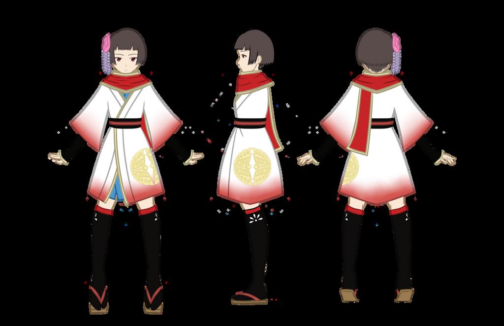 Riyo Child Reference by AzusaKazuko