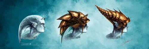 Fish Armor (Helmet Design) by ArtofStreet