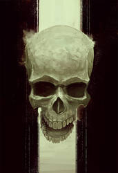 Eerie Skull by ArtofStreet