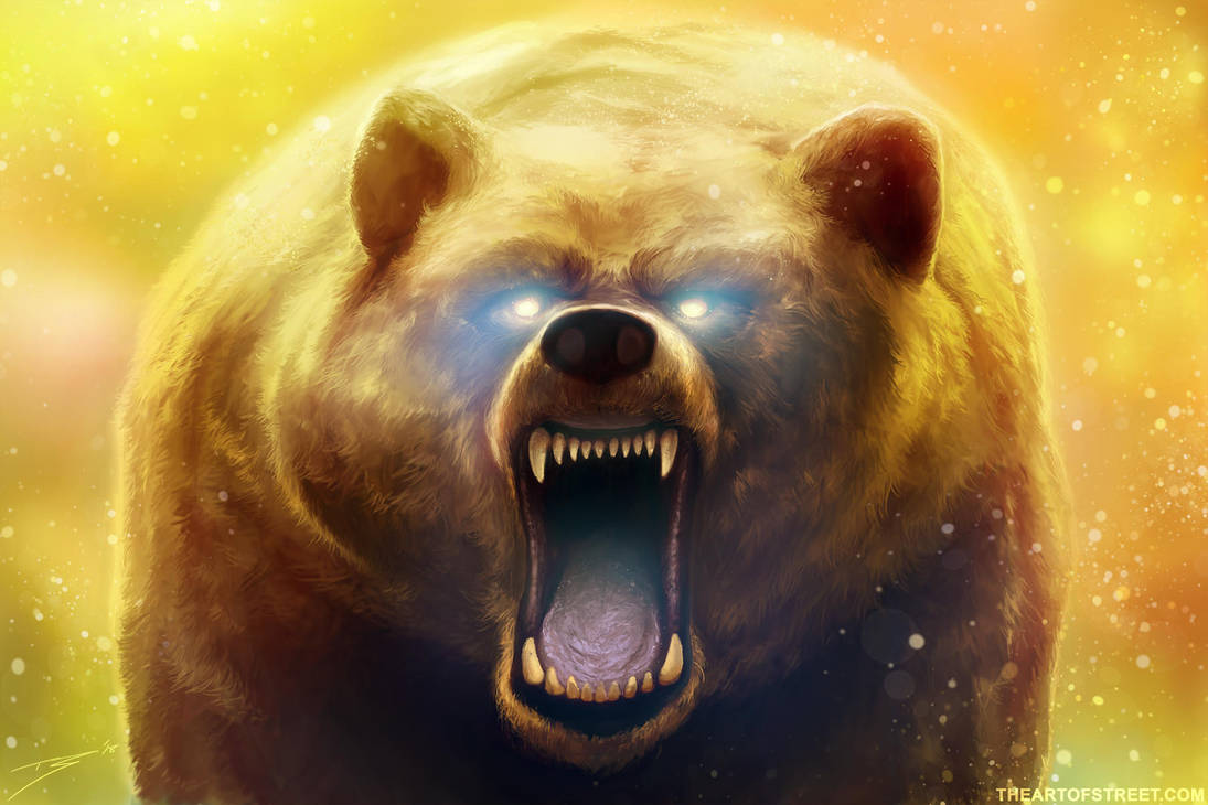 Grizzly Ghost by ArtofStreet