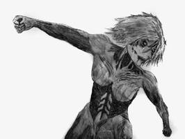 The Female Titan by Billy-Cash