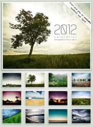 Calendar 2012 : Landscapes by bosniak