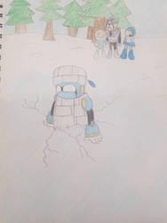 Tundra tried to teach Block by Megamanfan000
