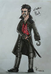 Captain Hook by JujuFanart