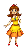 Da-Da-Daisy of Sarasaland by Divine-Princess