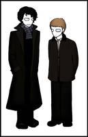 BBC: Sherlock and Watson. by Slinkers