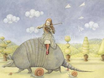Armadillo Dream by wanderlust-pixiedust
