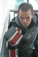 Commander Shepard overlooking. by NYCAssassin