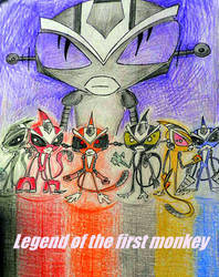 Legend of the first monkey 01/00 by MechanicalWhite