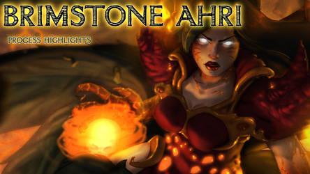 Brimstone Ahri Timelapse by UNtethered-Studios