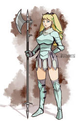 Helena - Character Design Commission by UNtethered-Studios