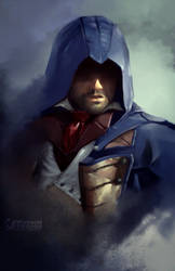 Speedpaint: Assassin's Creed Unity by UNtethered-Studios