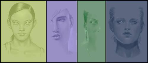 Portrait studies by PPR88