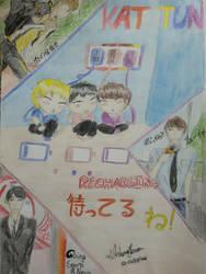 KAT-TUN fanart by uedanoyome