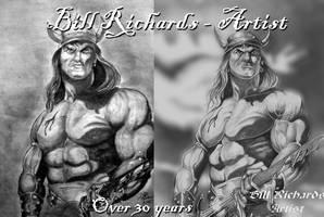 Conan The Barbarian by B-Richards