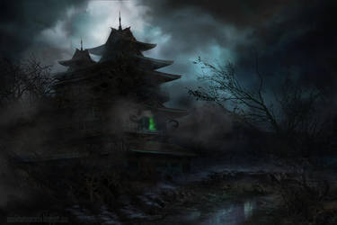Haunted temple by lavam00