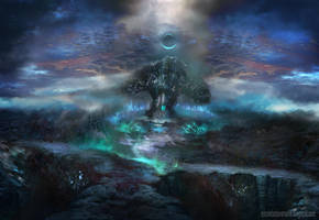 Emerald night by lavam00