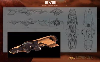 Empress Jamyl's Cruiser by Enterprise-E