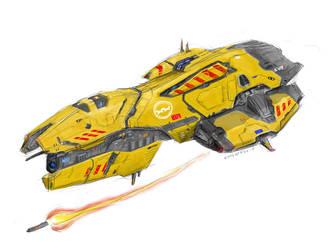 Taiidan 'Diviiras' Destroyer by Enterprise-E