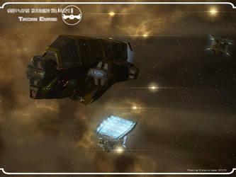 Qwaar-Jet In Nebula by Enterprise-E