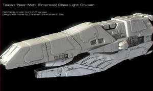 Taii Light Cruiser HighDet WIP by Enterprise-E