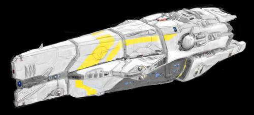 Own starship design by Enterprise-E