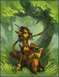 Twitchling Adventurer by Trollfeetwalker