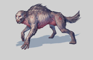 Lycanthrope by Trollfeetwalker