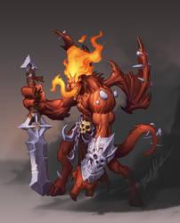 Demon Guy by Trollfeetwalker