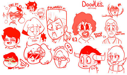 [07/12/16] Stream - Emotion Chart Drawings by LoulabeIIe