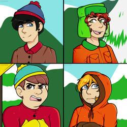 [F2U] South Park Icons by LoulabeIIe