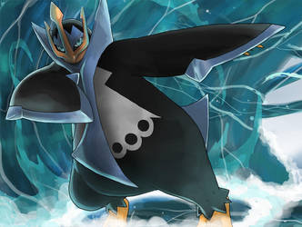 Empoleon used Surf by seiryuuden