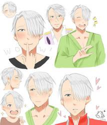 Viktor Doodles by Momocatluv