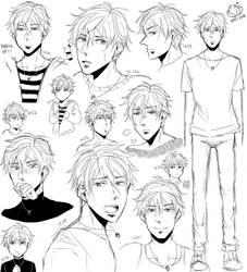 OC Doodles by Momocatluv