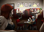 Lock Eyes from Across the Room by Allegro-Designs