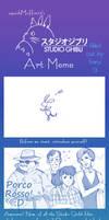 Studio Ghibli Meme by Barukurii