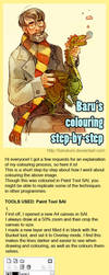 Colouring step by step by Barukurii
